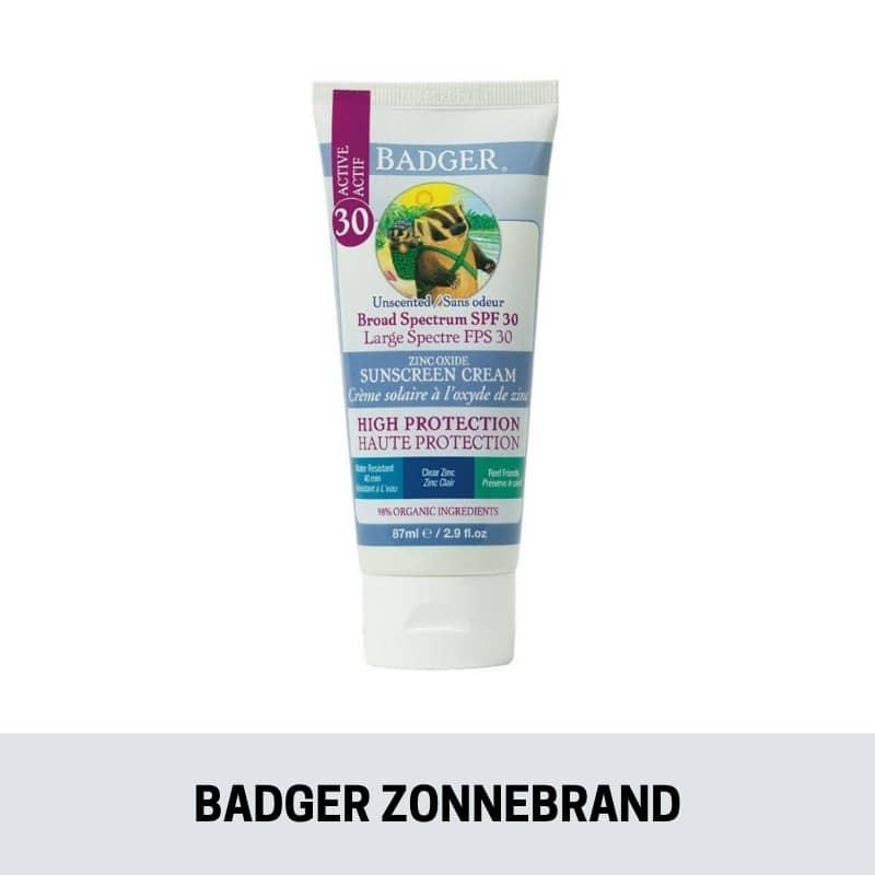 badger-zonnebrand