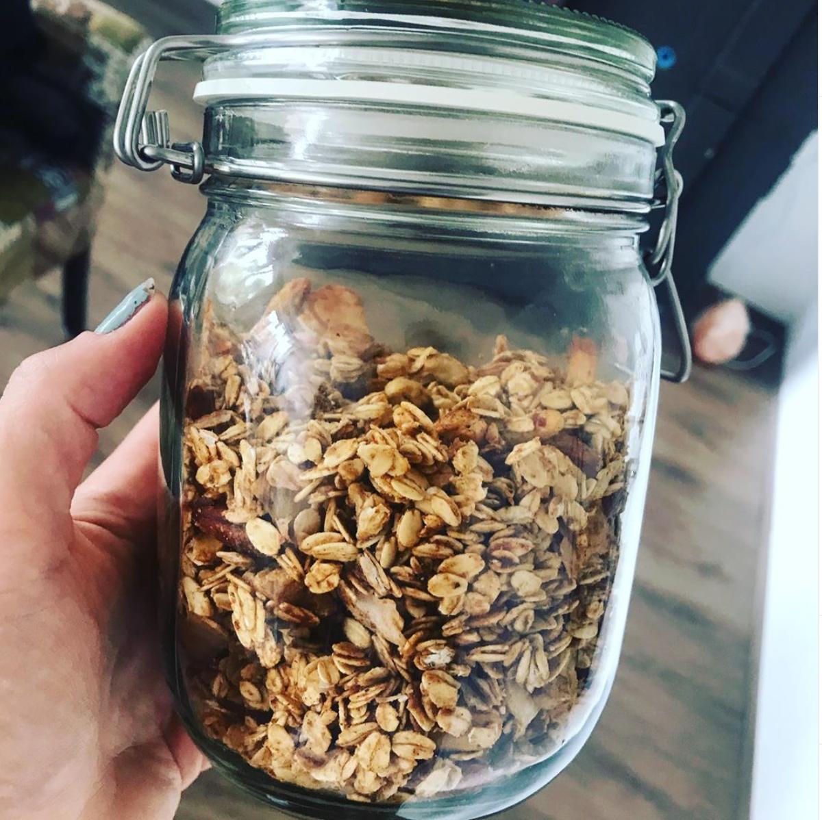 zelfgemaakte-granola-vet